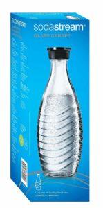 SodaStream 0,6L Glaskaraffe spülmaschinenfest mit fest schließendem