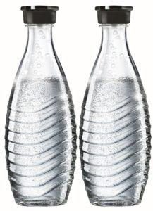 SodaStream DuoPack Glaskaraffe für Crystal und Penguin Wassersprudler